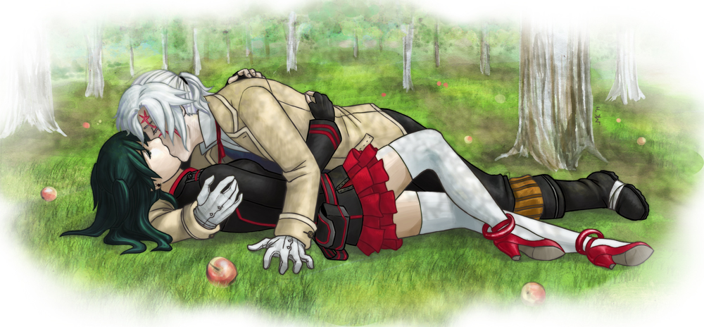 DGM: Reunion in the Orchard by Tomecko