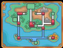 Ki'en Region (V2/New) - Fan-made Pokemon Map by canwepretend