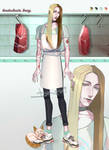 Butcher boy - adopt auction (OPEN) by Dromi-chi