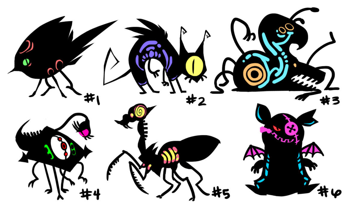 Misfit Adoptables by SpiritHoliday