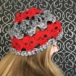 Creepy Skulls Slouchy Hat by MrsEveTwo