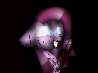 Pinkamina wants to kill you at night.