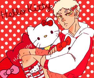 Hello Kitty Boy by Odd-Yellow