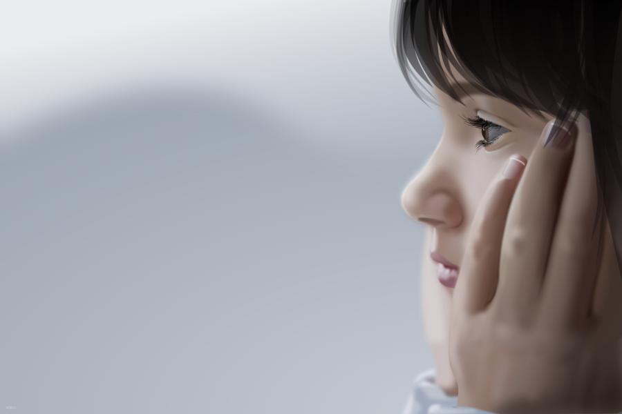 Sad Girl by roeltz