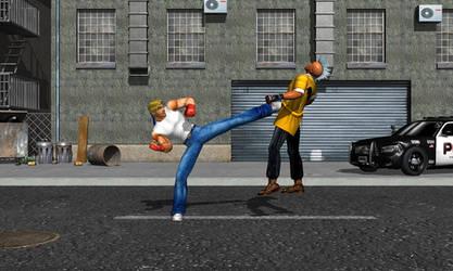 Axel vs Punk 2