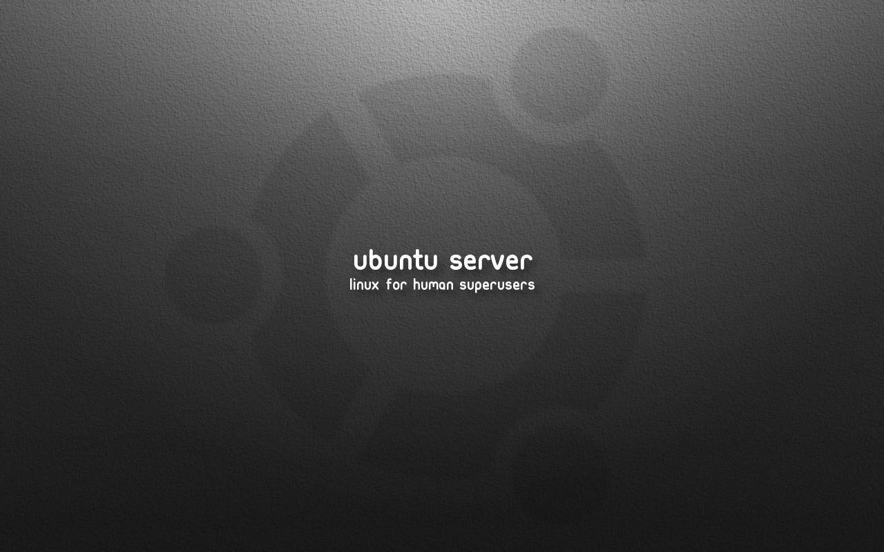 Ubuntu Server Wallpaper v4 by SirCrow on DeviantArt Ubuntu Server Wallpaper