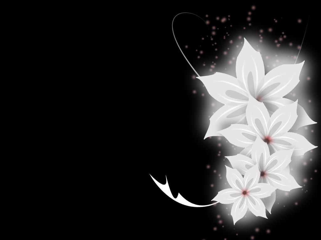 flowery wallpaper by calajane on deviantart
