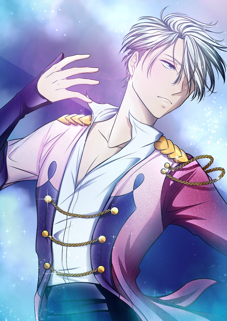 Viktor ~ Yuri On Ice ~ Fanart by balvana