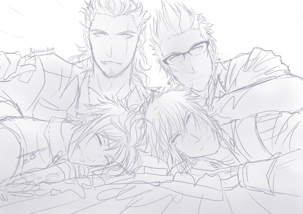 Chocobros Sketch by balvana