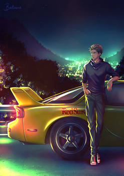 Born to fly ~ Initial D Fanart