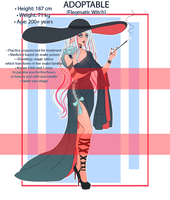 [OPEN] Adoptable Flegmatic Witch #16 by Lulzus