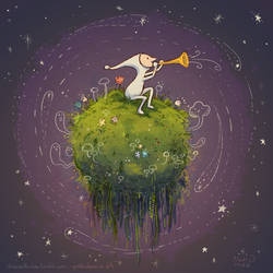 Samorost 3 - Cosmic Moss by proteidaes