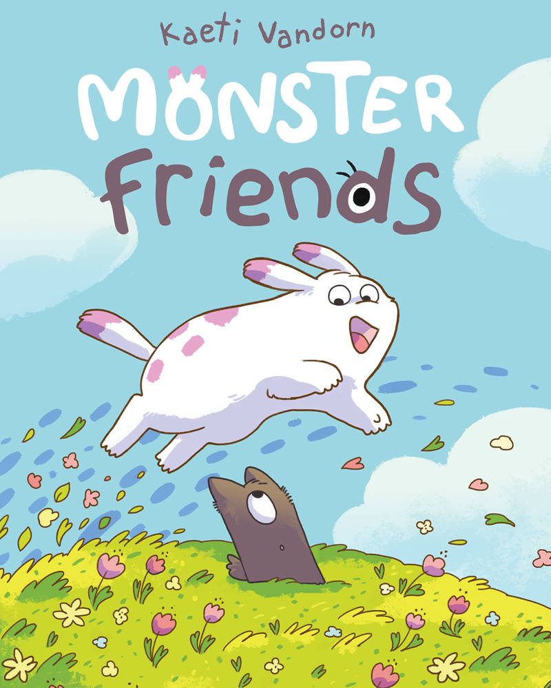 MONSTER FRIENDS - cover reveal!