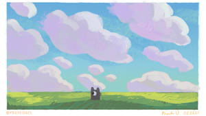 summertime clouds 03