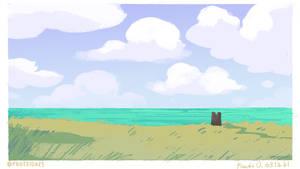 Speedypaints - bright sea