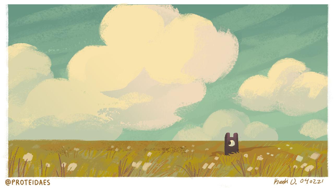 Speedypaints - dreamy clouds