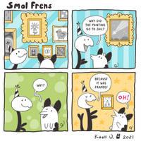 Smol Frens - framed!!
