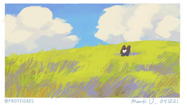 Speedypaints - scrushy grass
