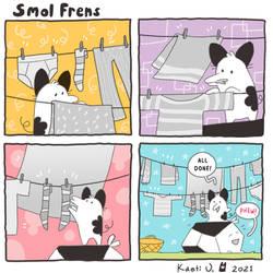 Smol Frens - Laundry Days
