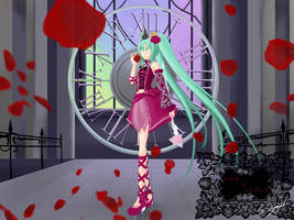 Miku : Romeo and Cinderella by Jiab