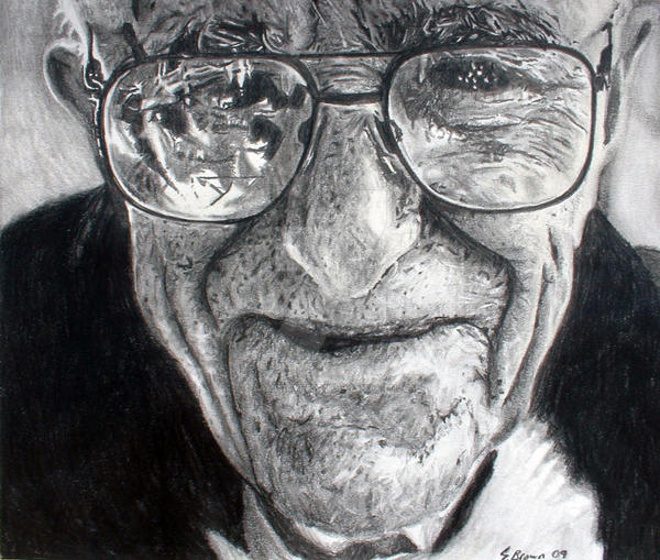 Image of: Spray Paint Old Man Pencil By Sambrownart Deviantart Old Man Pencil By Sambrownart On Deviantart