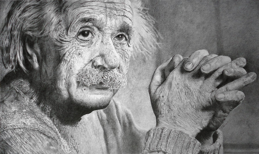 albert einstein by sambrownart on albert einstein by sambrownart