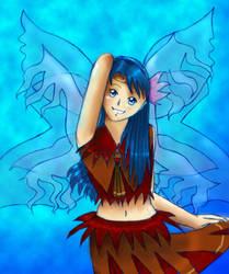 Water Fairy Student by anamicah