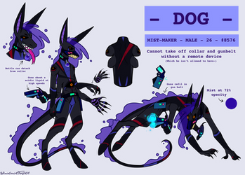 Dog Ref Sheet (Mist Maker MYO) (Approved!)