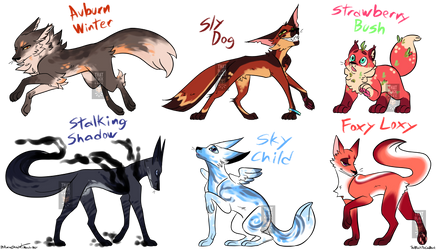 ~Fox Adopts~(6/6 CLOSED)~(OTA)