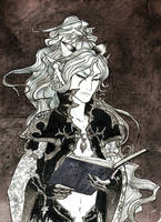 Mizane the Librarian by TTLuciferal