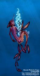 Weedy Sea Dragon Merman by TTLuciferal