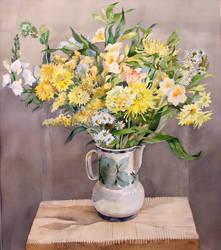 Yellow Bouquet by LenaAkhumova