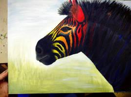 Zebra by CharlotteFlower