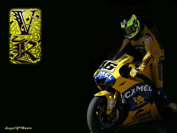 Rossi wallpaper VR by AngelyDante