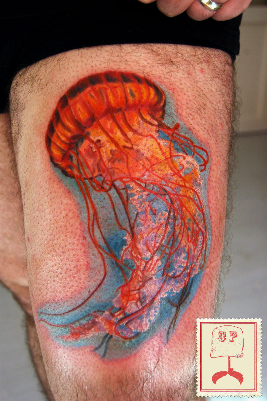 jellyfish tattoo by art-emis on DeviantArt