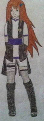 A Sketch of my OC, Amberleaf