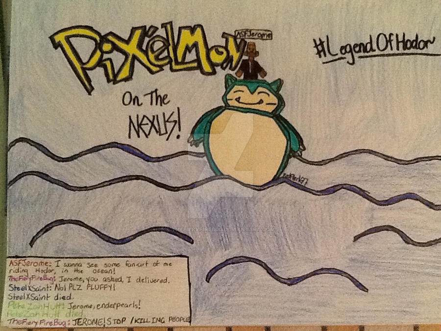 The Legend of Hodor the Snorlax by TheFieryFireBug