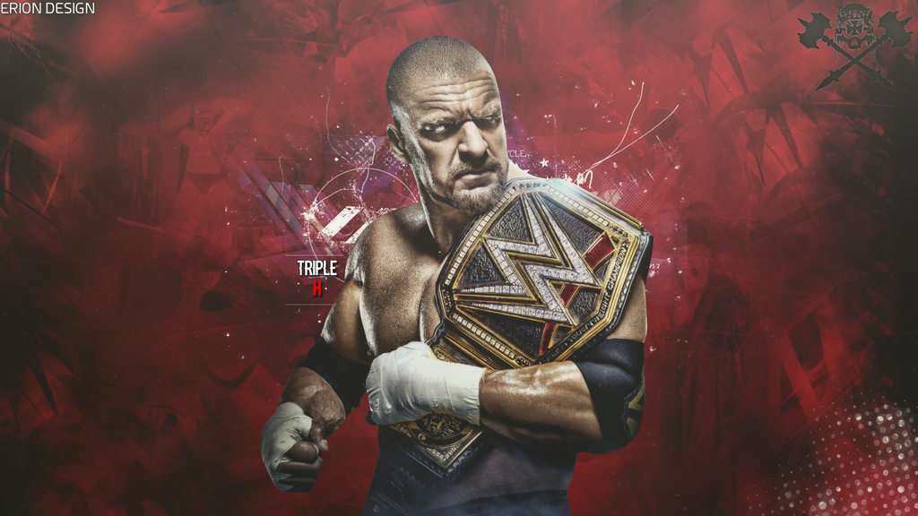 Triple H WallPaper By ErionGraphic