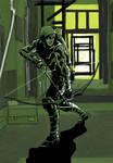 Green Arrow Monochrome colour?