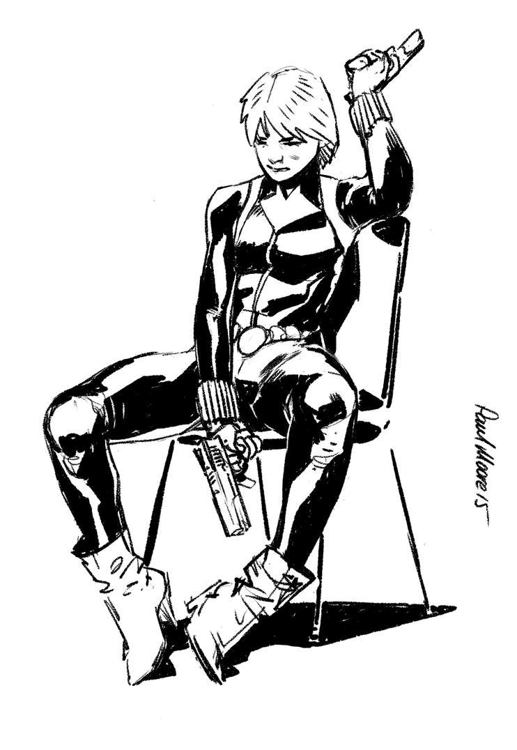 Black Widow by Paul-Moore