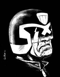 Judge Dredd by Paul-Moore