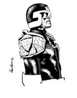 Judge Dredd by Paul-Moore