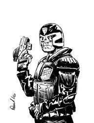 Judge Dredd 2012 by Paul-Moore