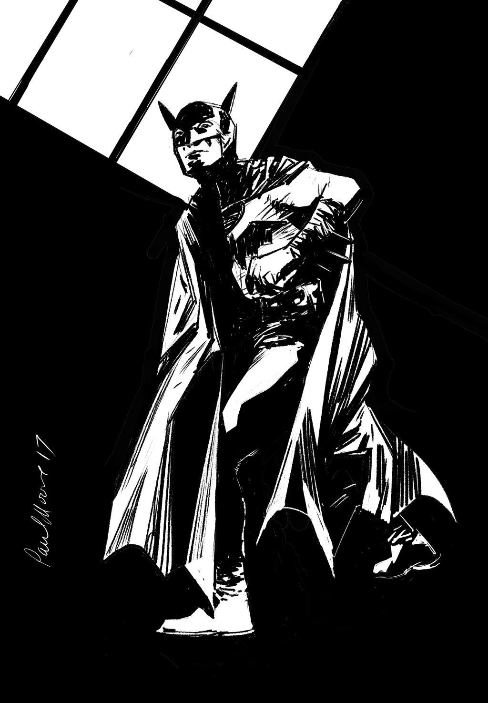 Old school Batman by Paul-Moore