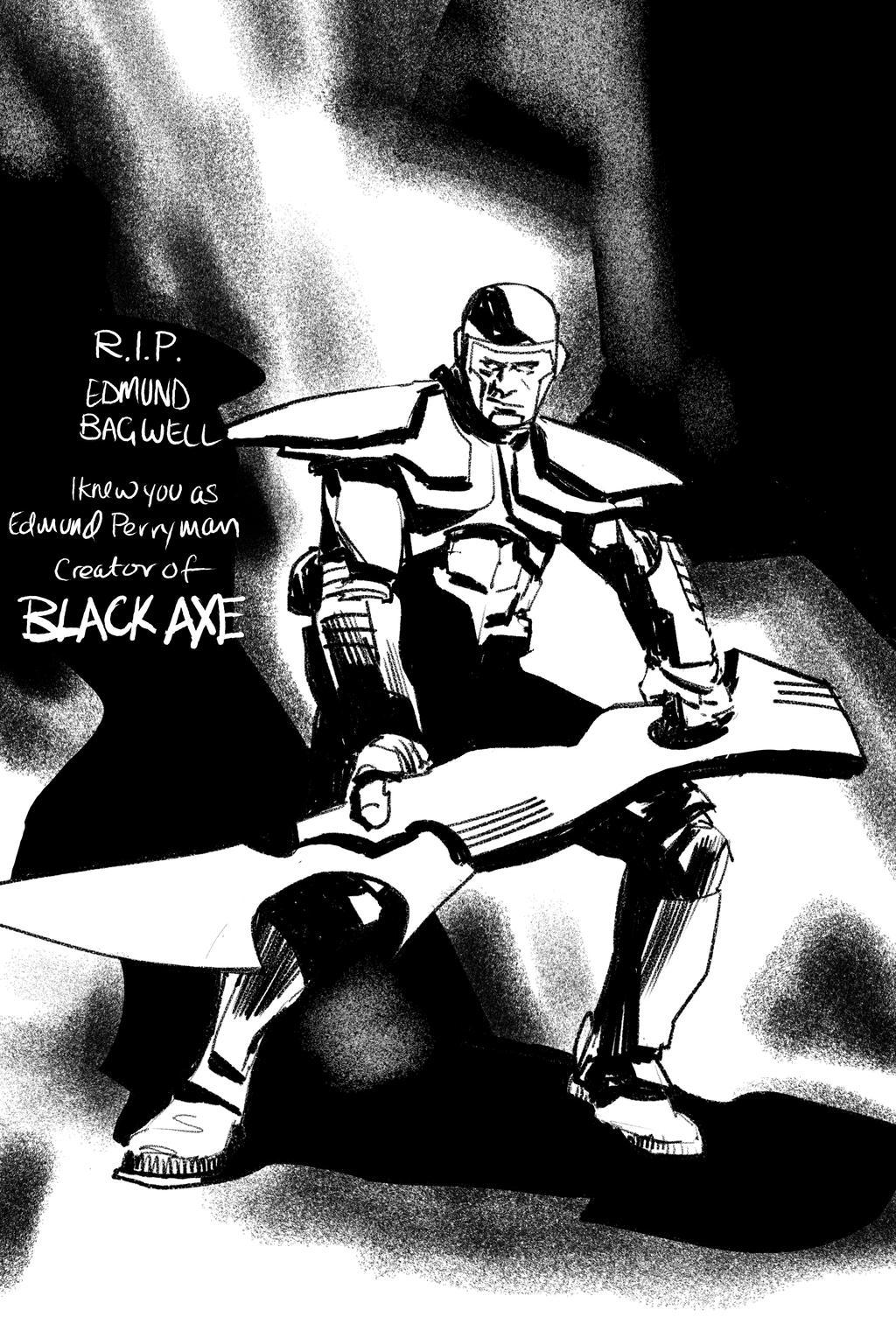 Blackaxe by Paul-Moore
