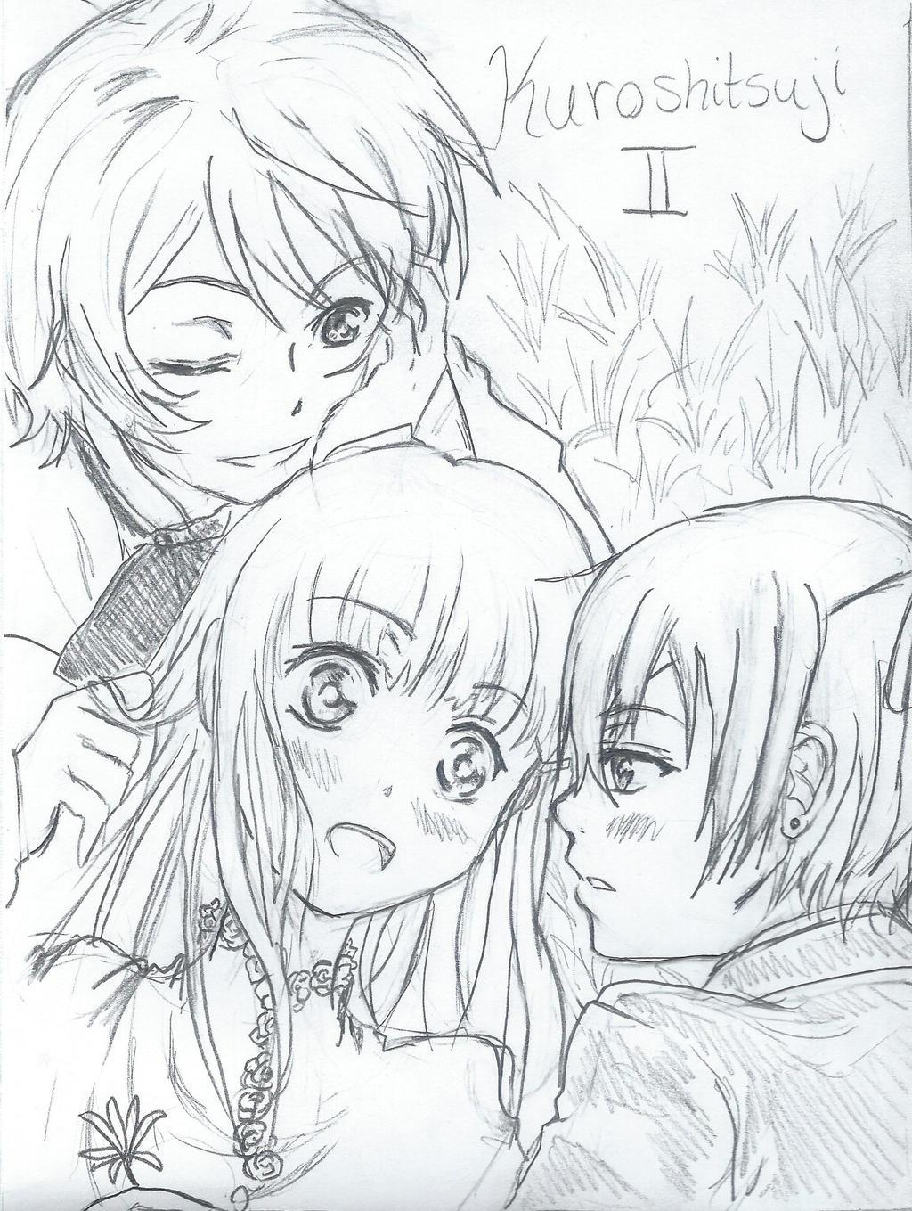 Black Butler Drawings Alois