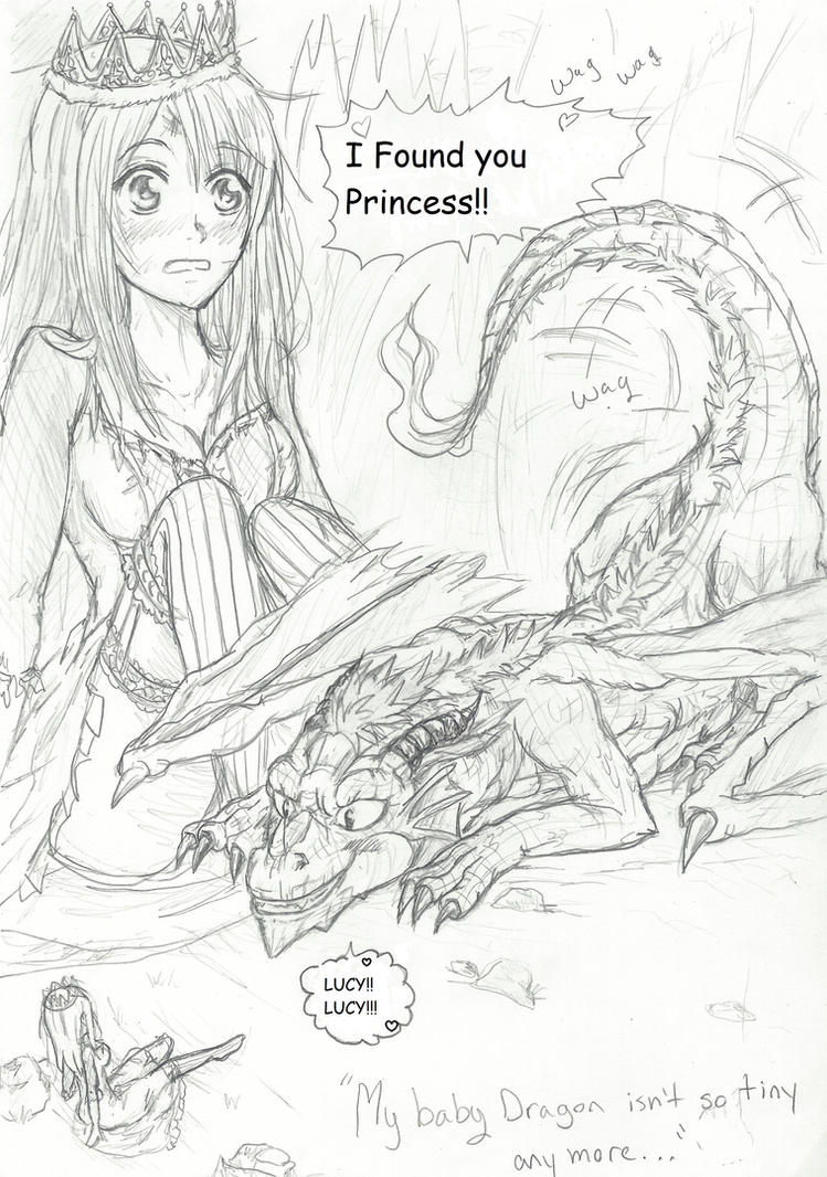 nalu my baby dragon my pet princess chap1 pg1 by inubaki on