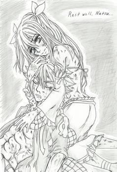 NaLu- After Tartarus Arc -  Rest Well, Natsu...