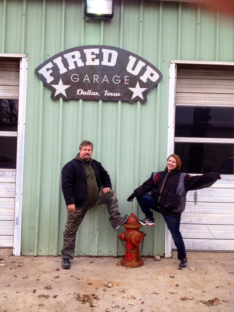 Fired Up Garage : Fired up garage tom smith dad and shelby me by inubaki on