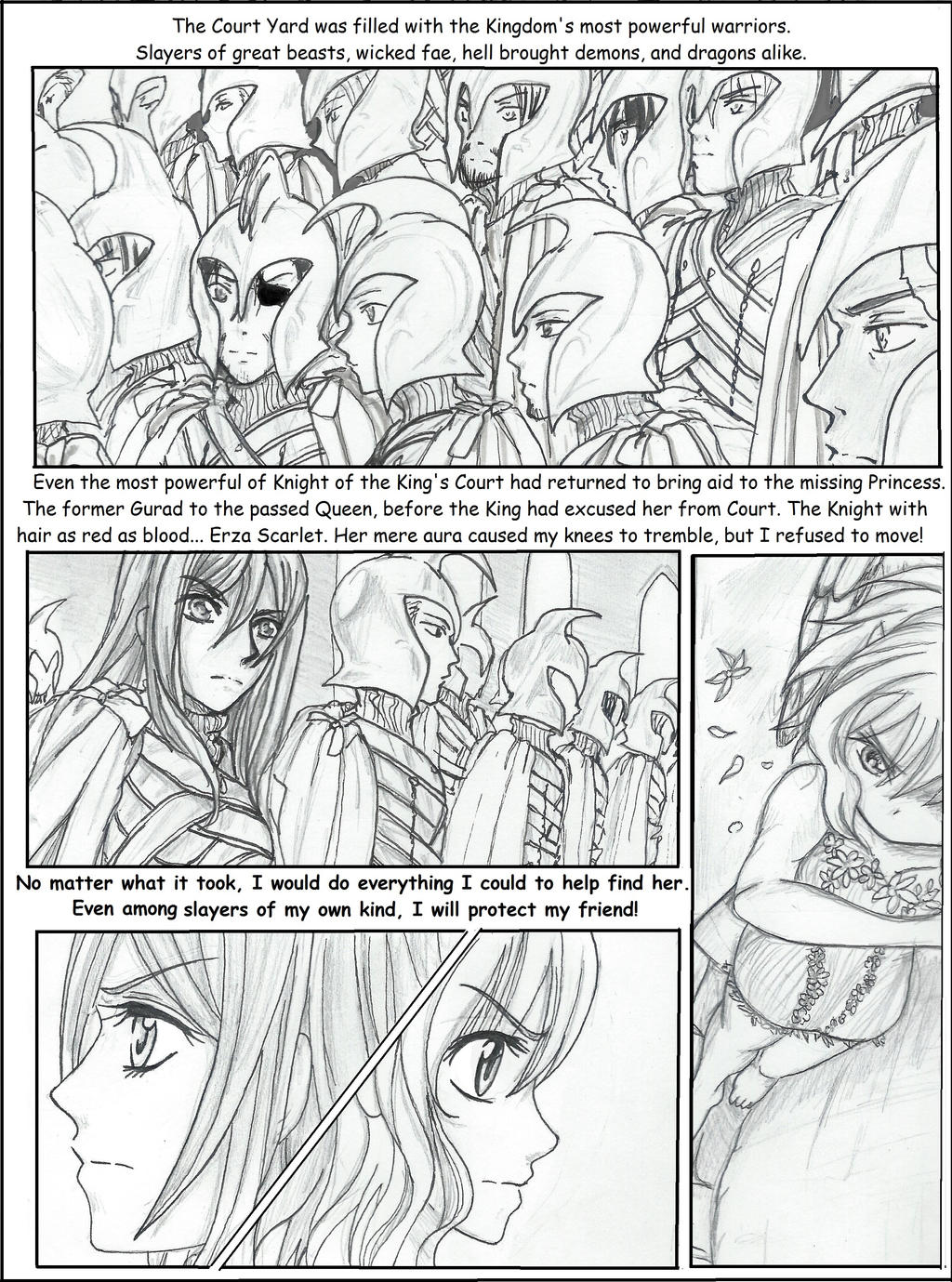 GaLe  My Idiot Dragon - My Blue Fairy  Chap6  Pg5 by Inubaki